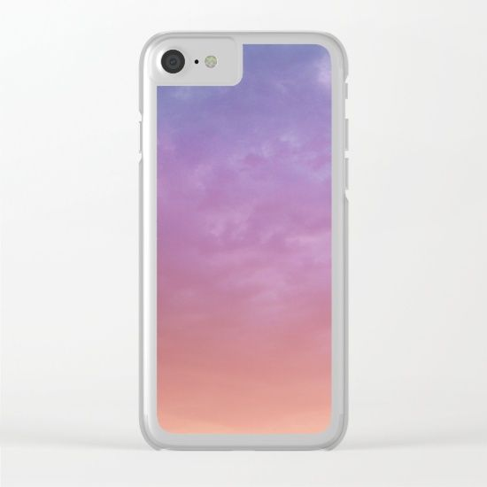 Colorful Sky Clear iPhone Case by ARTbyJWP in Society6 #phonecase #phonecases #iphonecase #iphonecases #clearcase #sky #skypainter #clouds #phoneaccessories #techaccessories #colorful #society6 #artbyjwp