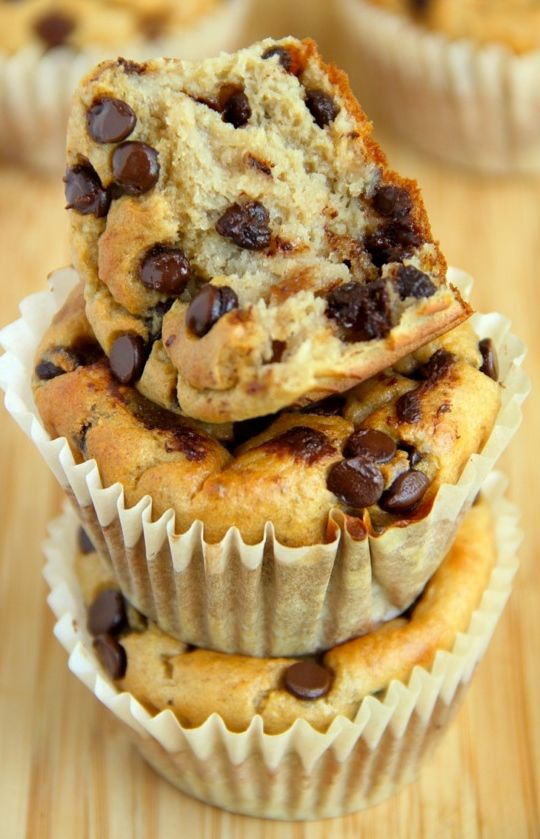 banana oat greek yogurt muffins   recipe   food   pinterest