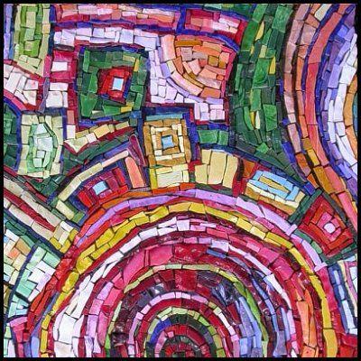 Resultado de imagem para modern mosaic art