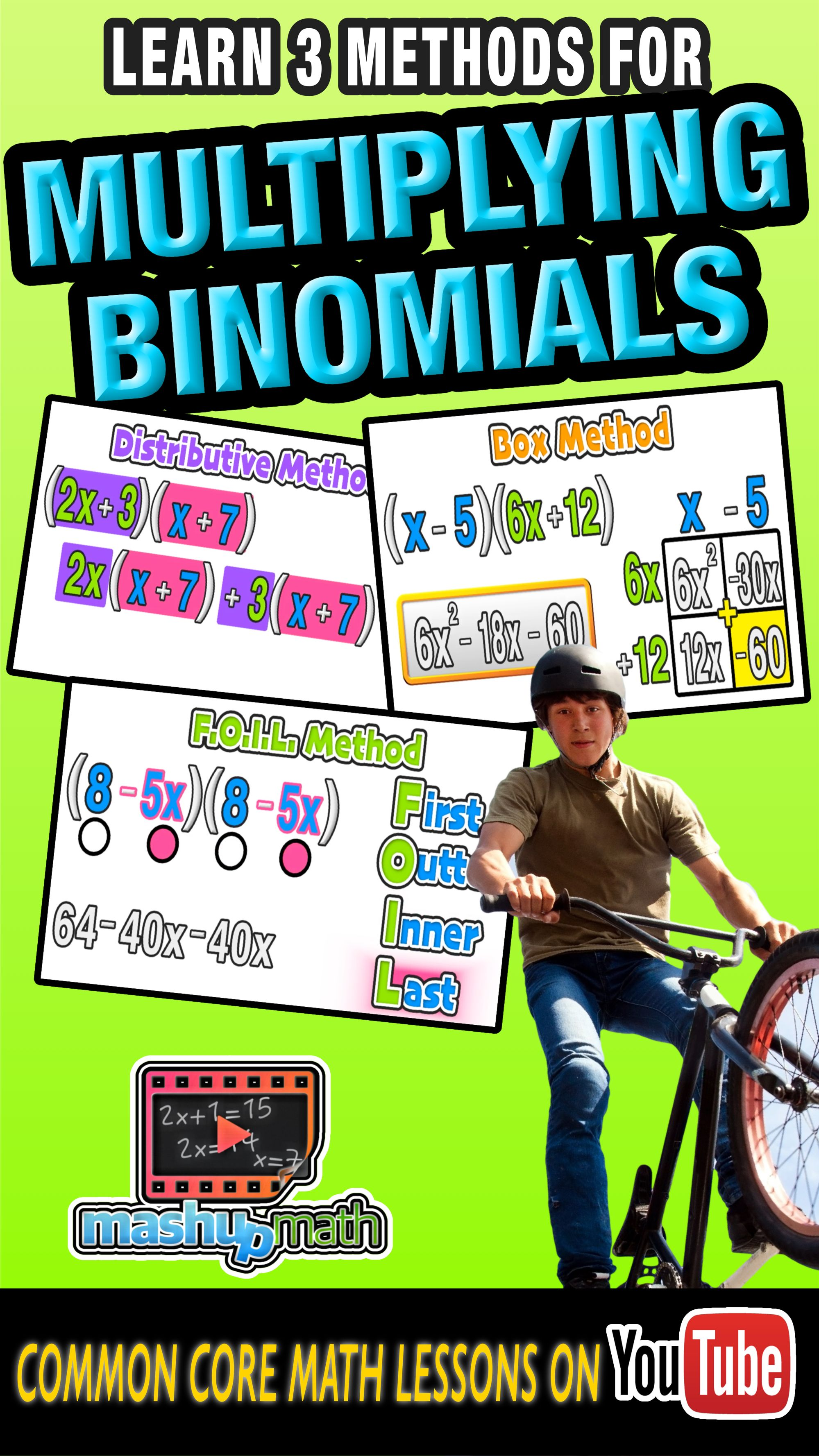 Need Some Help With Multiplying Binomials Our Latest