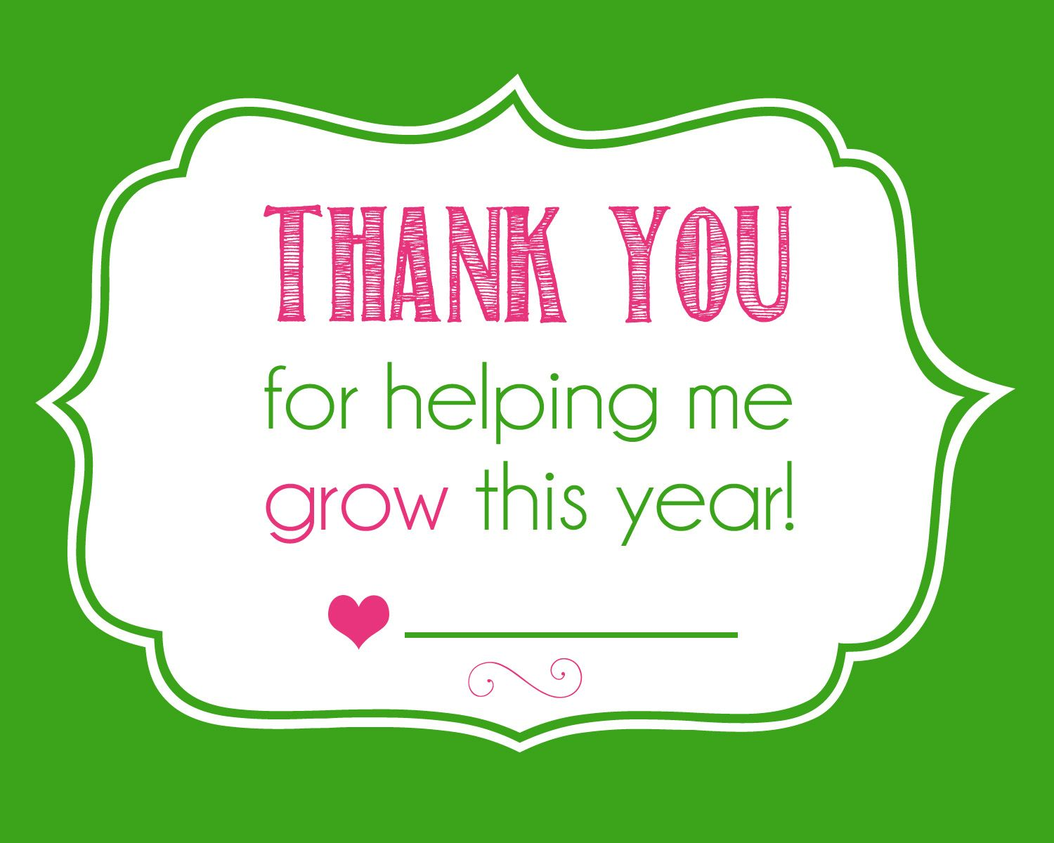 Thanks For Helping Me Grow Quotes: Teacher Gifts, Presents
