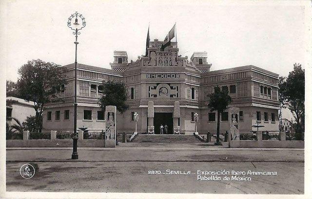 Vintage World S Fair Postcard Seville 1929 In 2021 Postcard World S Fair World