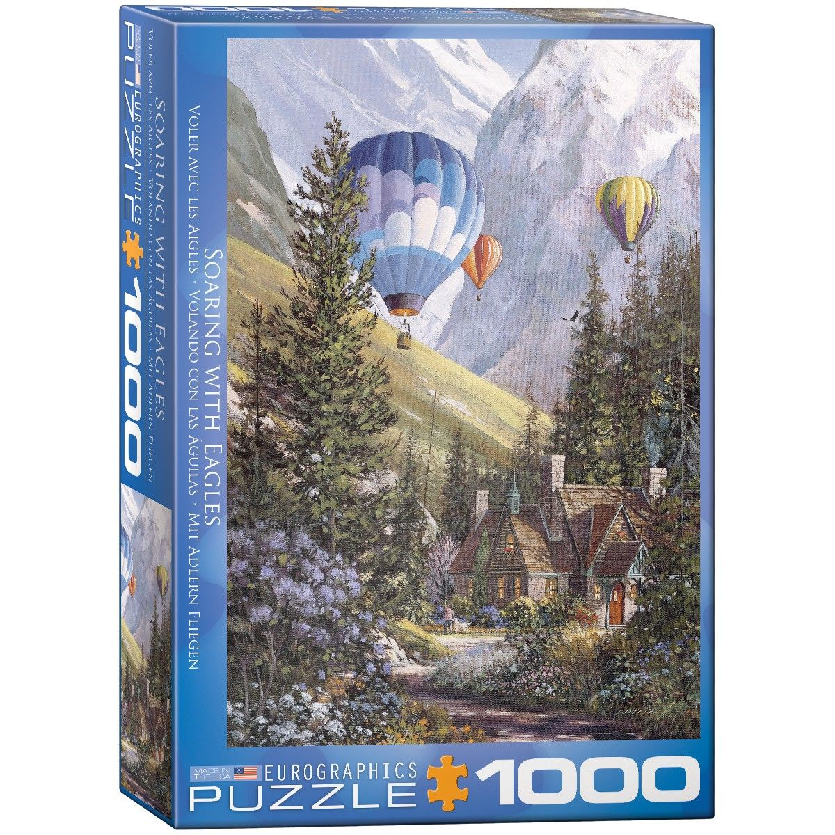 Eurographics Soaring with the Eagles Jigsaw Puzzle