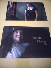 2 Jamie Brewer on AMERICAN HORROR STORY Autograph Signed 4x6 photos ORIGINAL