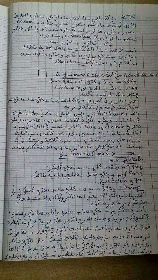 Pin By Warda Ha On وصفات مكتوبة بالخط Tunisian Food How Are You Feeling Encouragement
