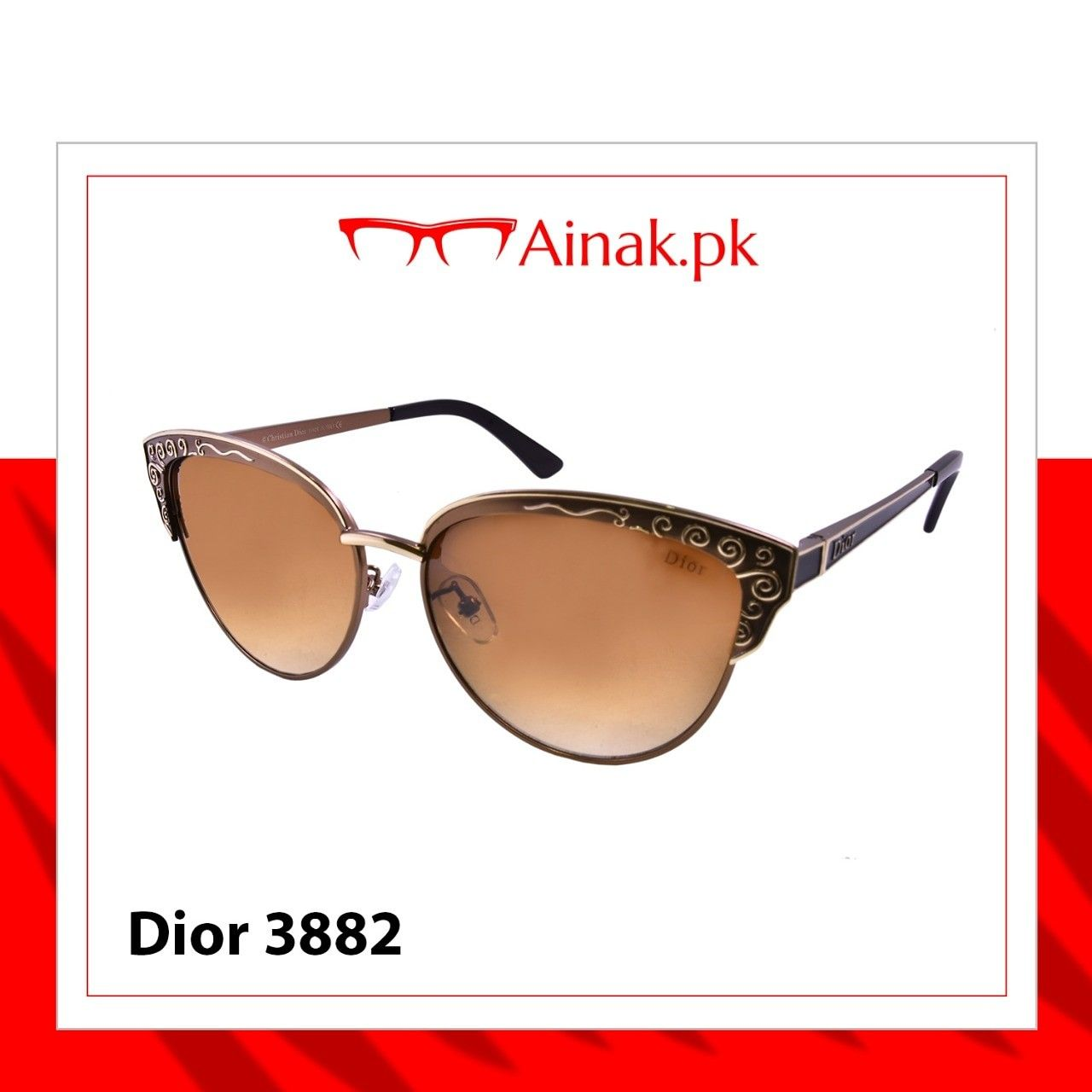 b5edcd73087 Embrace your look with these  dior  pink  sunglasses Buy from the best  online  glasses store in  pakistan  sunglassesfashion  diorsunglasses   glassesframes ...