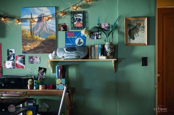 Bella S Bedroom Blue Prints And Screen Caps Twilight Twilight Saga Bella Swan