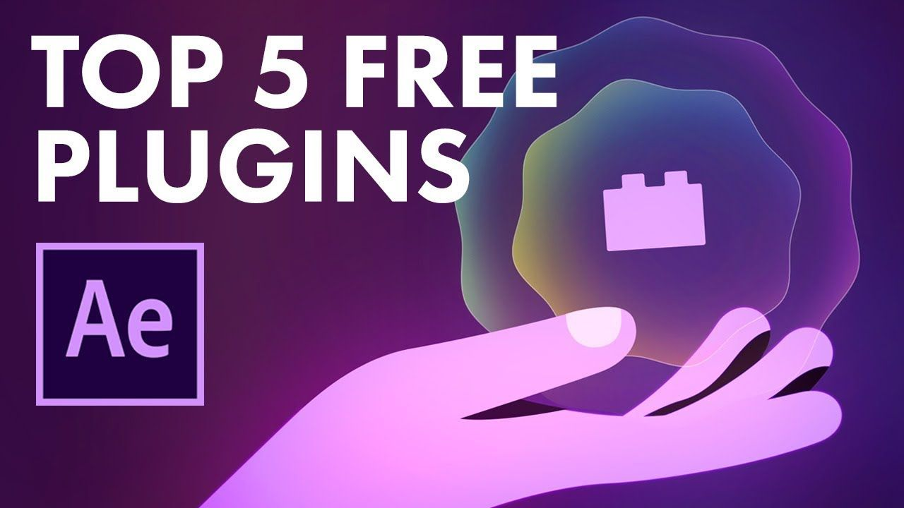Top 5 Free After Effects Plugins For Animation Motion Design Motion Design Free Plugins Adobe After Effects Tutorials
