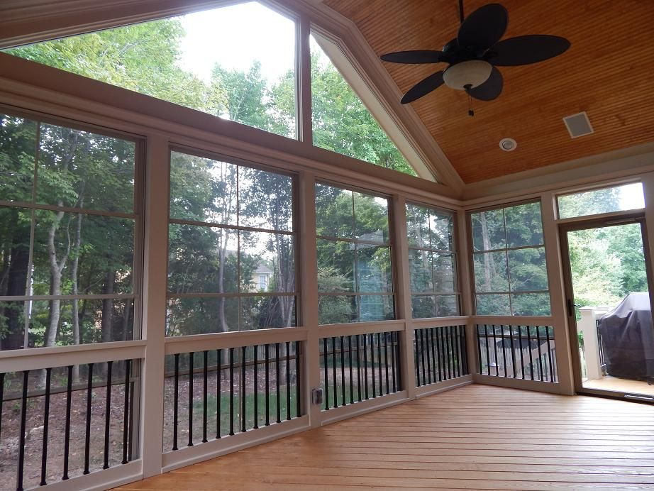 3 Season Room Screen Porch Raleigh And Cary Nc 3