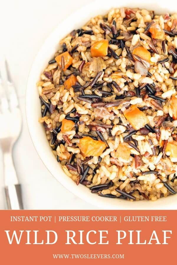 Wild Rice Pilaf #easyricepilaf