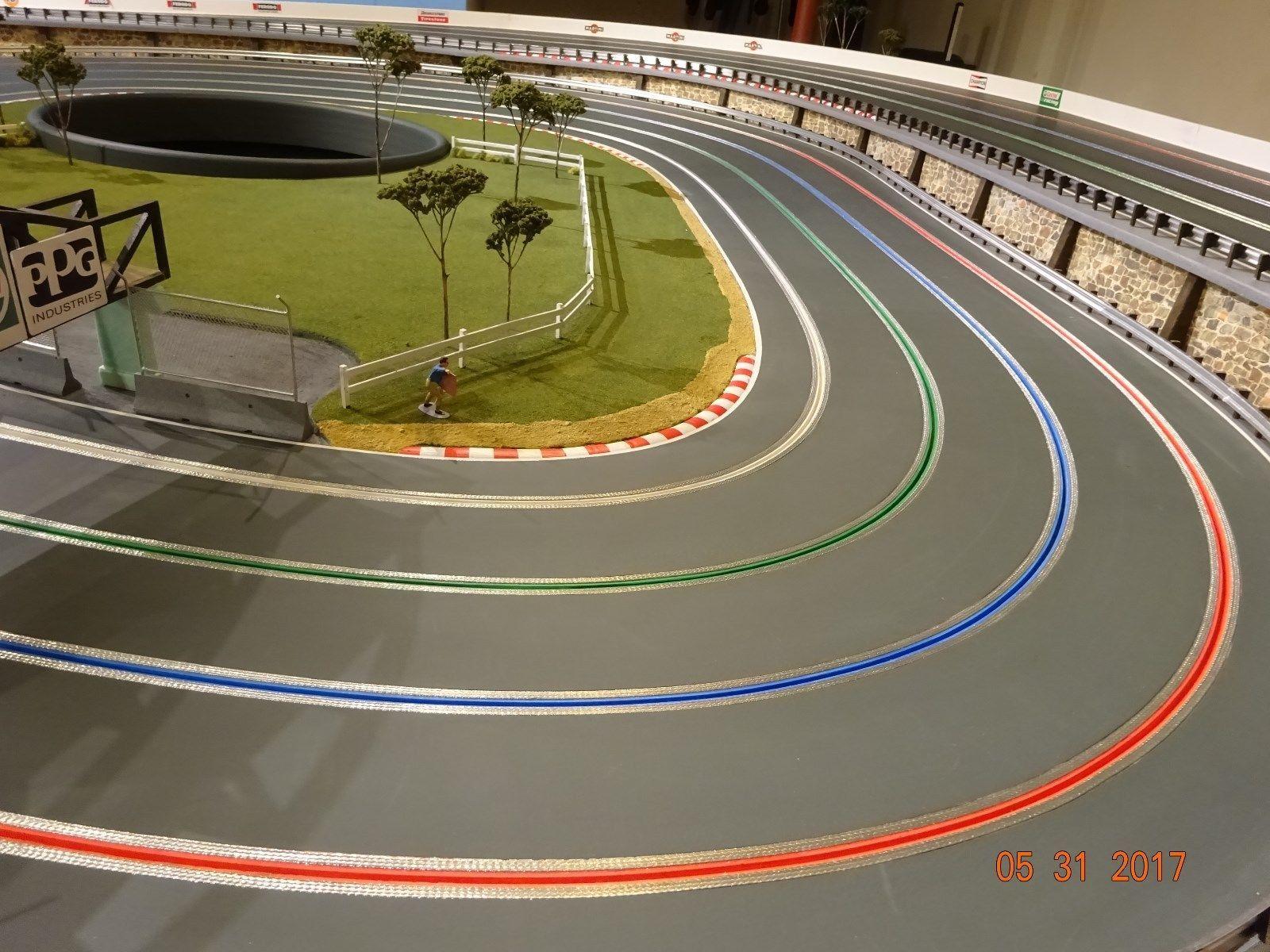 1 32 Scale Aluminum Armco Guardrail System Slot Car Track Diorama Scenery Slot Cars Slot Car Tracks Kids Nutrition