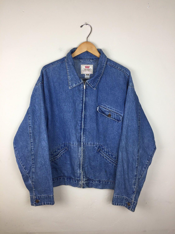 Rare 90s Levis Denim Jacket Size Xl Vintage Levi S Jacket Vintage Levis Jacket Vintage Denim Levi