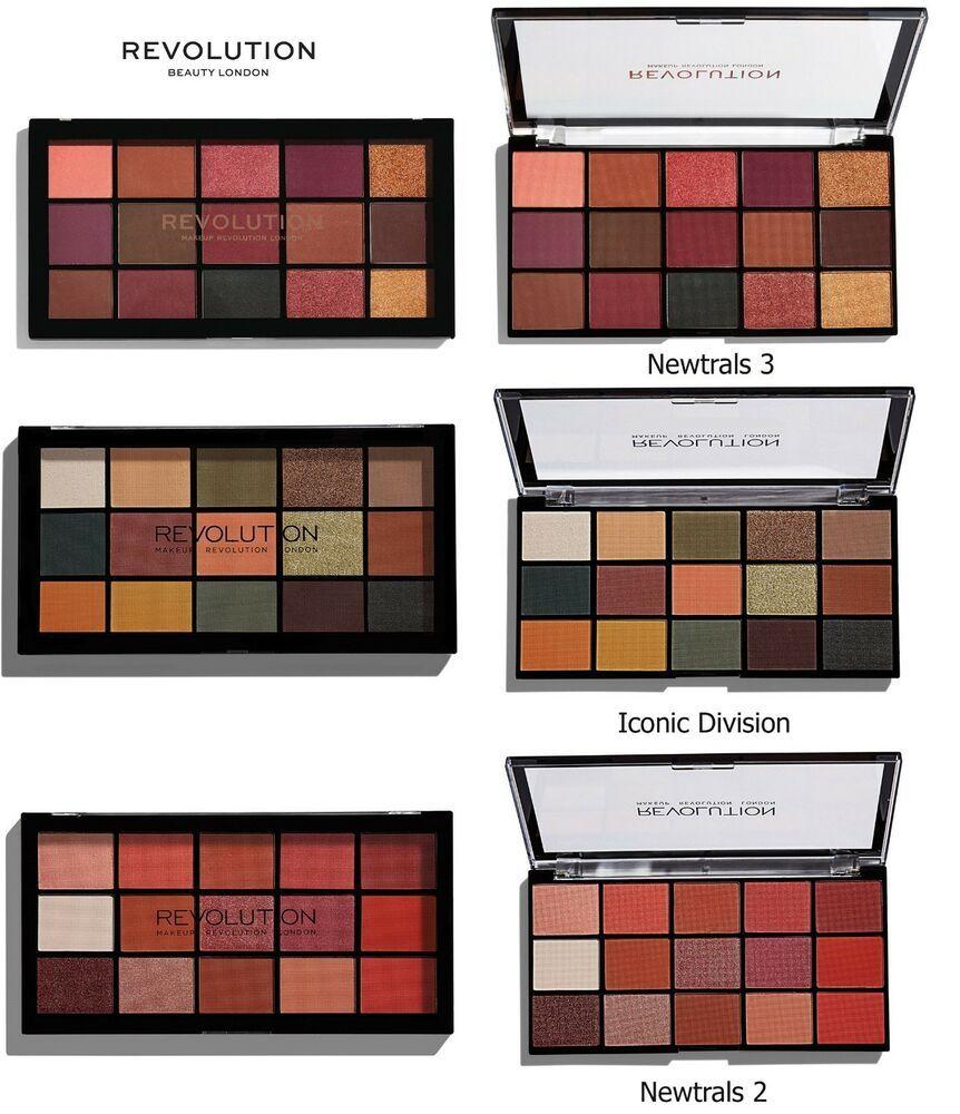 Makeup Revolution Eyeshadow Palette ReLoaded Revolution