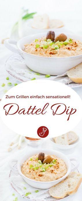 Dattel Dip Rezept - Zum Brot und Grillen einfach super!