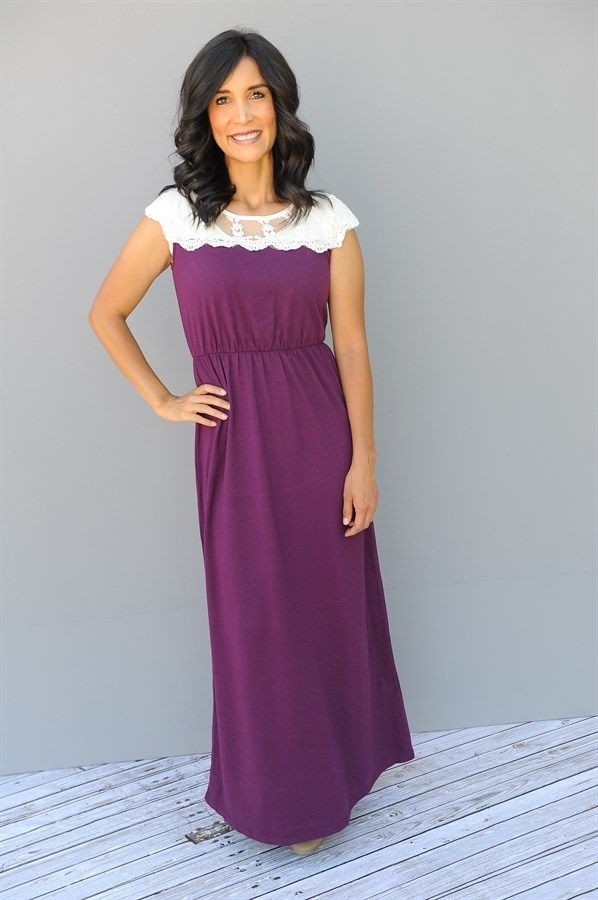 Lace Maxi Dress: S-XXL | Moda estilo, Costura y Modelo