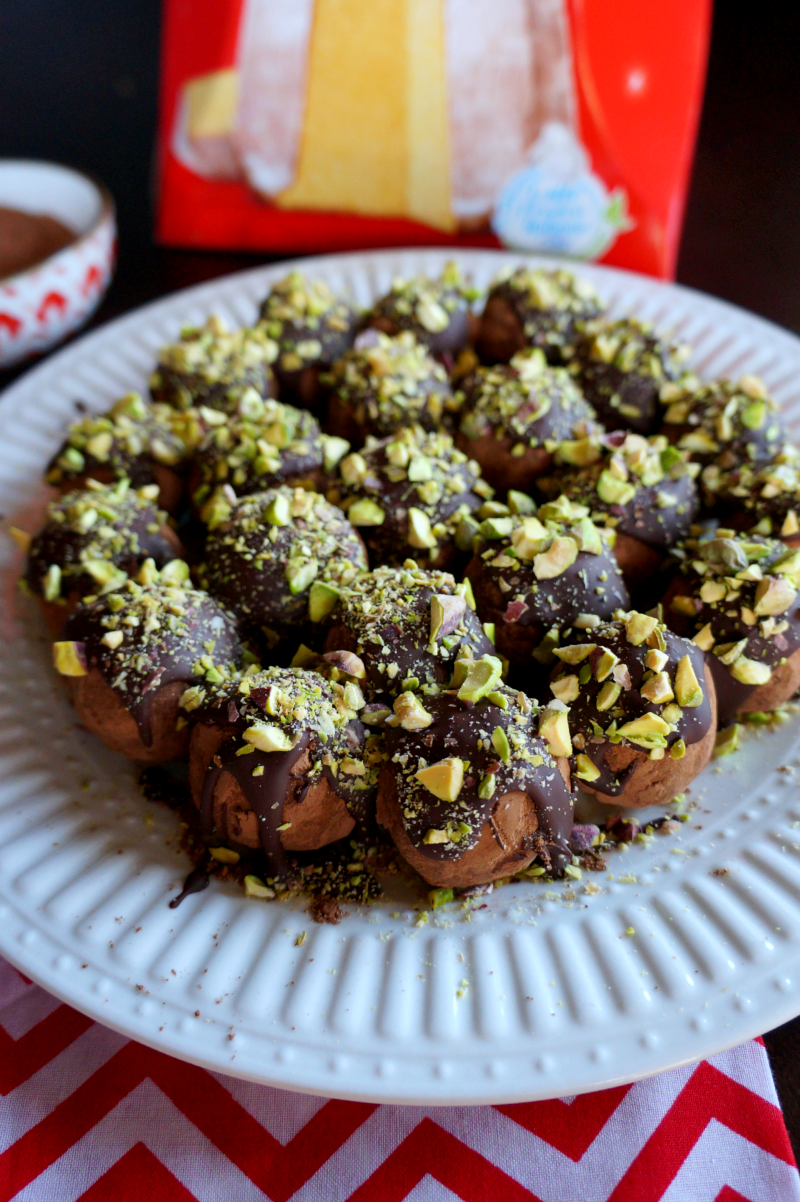 Pandoro Italian Christmas Cake Truffles Rezept All Desserts