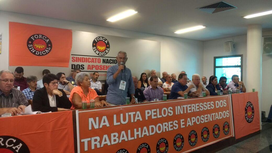Plenária da Força Sindical para discutir ações contra Terceirização e reformas da Previdência e Trabalhista