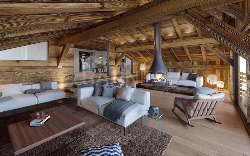 Luxury Chalet In The French Alps Barnes Luxury Homes Chamonix