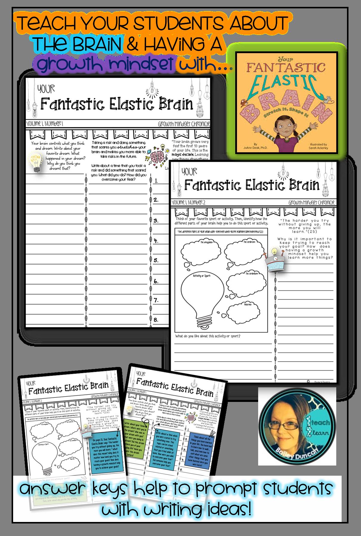 Your Fantastic Elastic Brain Activities Pennants