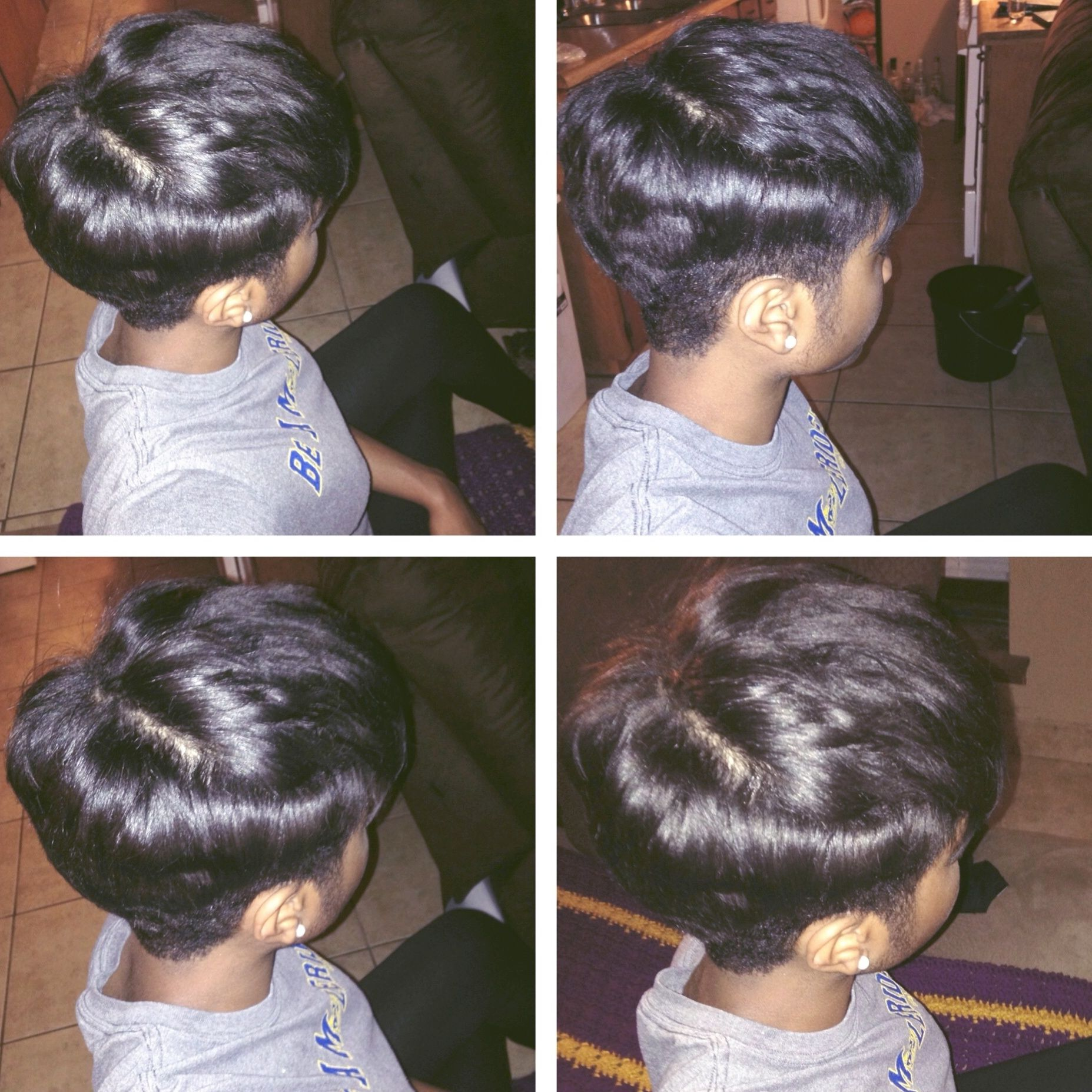 Pixie Haircut For Black Women African American Hair 2014 Black Hair Short Haircut Curled Hair Short Hairstyles Hair Styles Relaxed Hair Hair Styles 2014