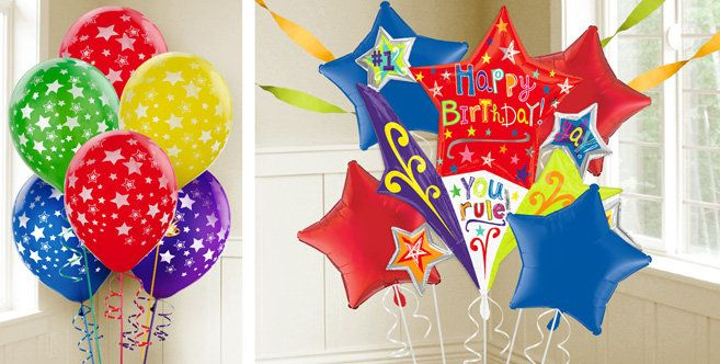 Birthday Star Balloons Party City Inspiring QuotesThoughts
