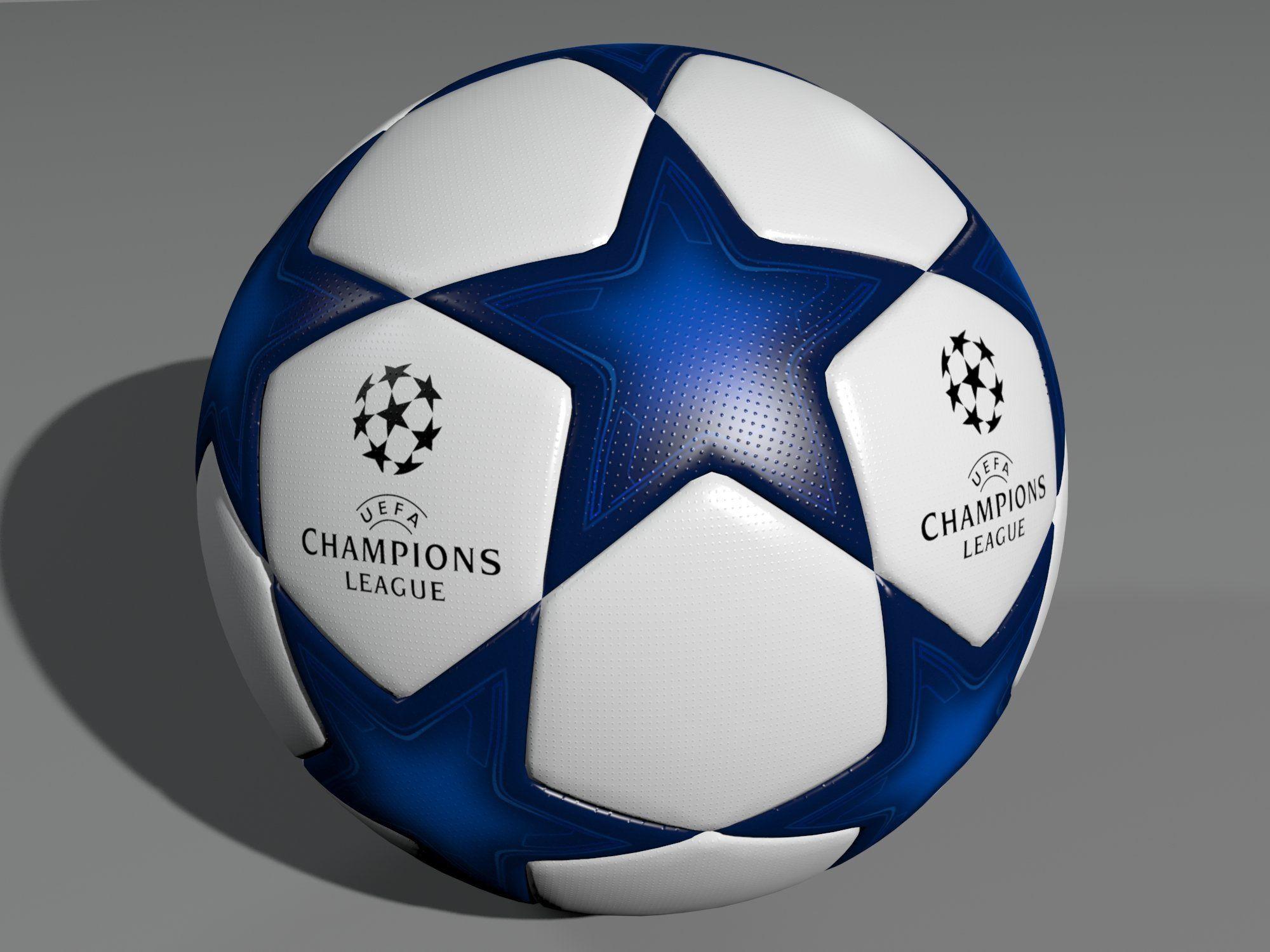 uefa champions league ball 3d model uefa champions league champions league league pinterest
