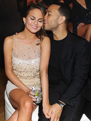 """John Legend and Chrissy Teigen are adorable and clearly crazily in love.John serenaded Chrissy at January's Grammy Awards with """"All of Me,"""" which he wrote especially for her. #interracialcelebritycouples"""