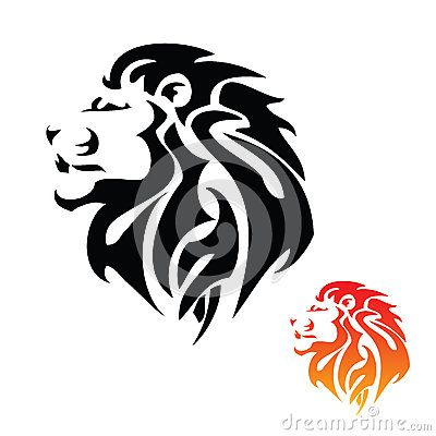 Lion Head Tribal Tattoo | Tats & symbols | Pinterest ... Simple Lion Designs