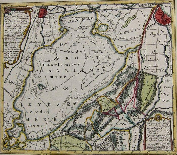 De Haarlemmermeerkaart uit 1591