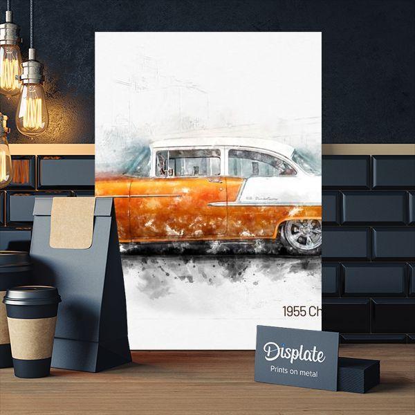 Metal Poster 1955 Chevrolet Bel Air