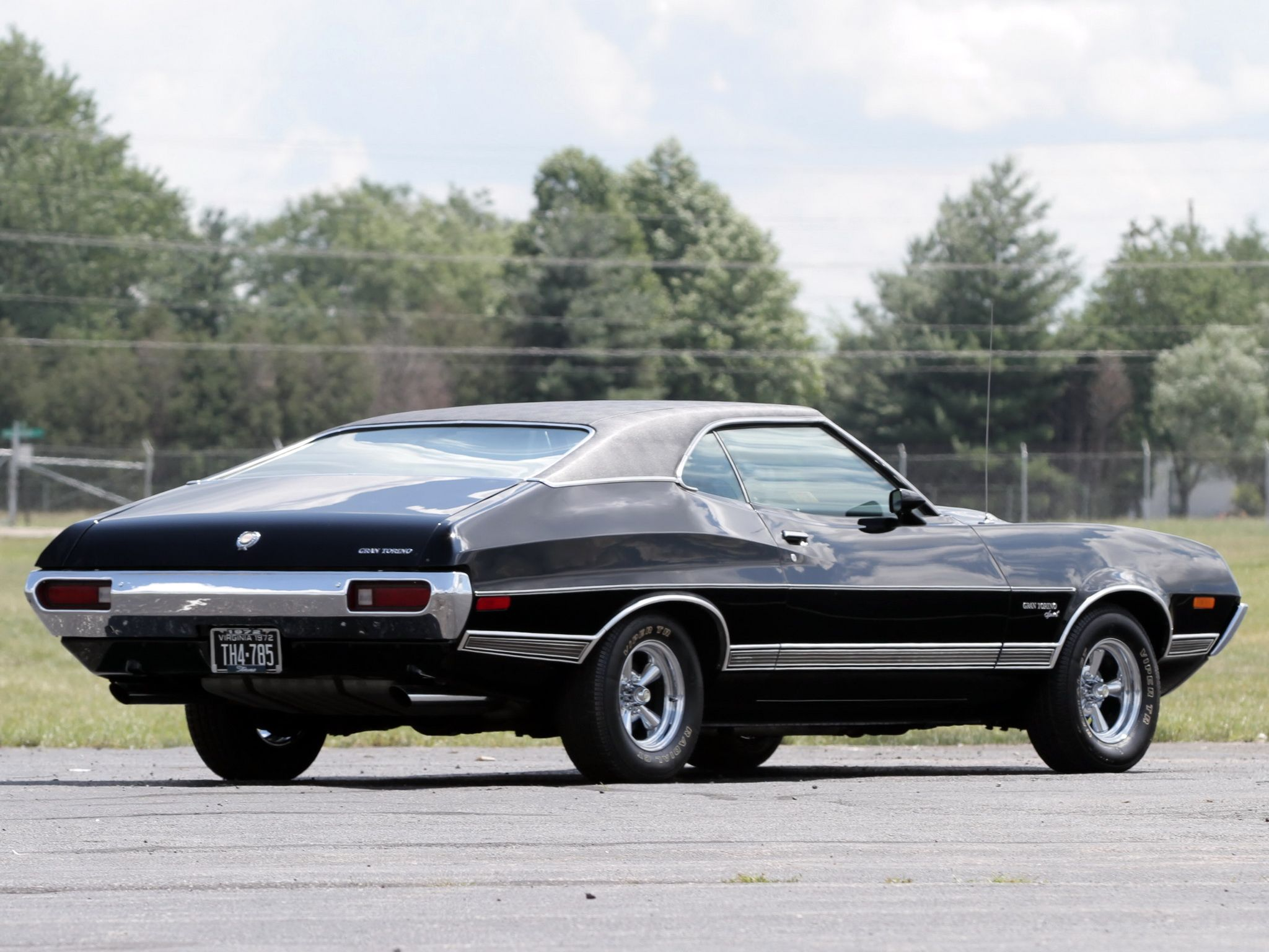 This 1972 Gran Torino Became An Movie Star In 2008 When It Was