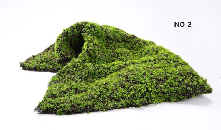 Pas Cher No 2 Mousse Artificielle Gazon Plante Decoration Murale Micro Herbe Paysage Diy Decoratifs Pour La Maison Outil Decoration Plante Parement Mural Gazon