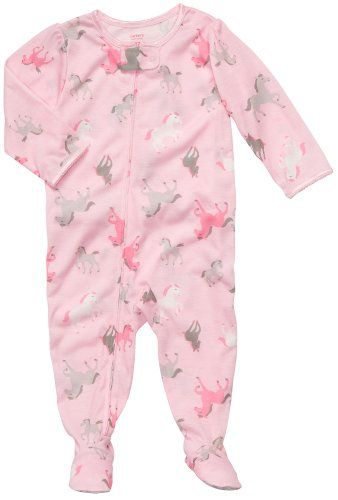 Infant Footed Poly Sleeper - Horse Print Carter s  f6bb86d16