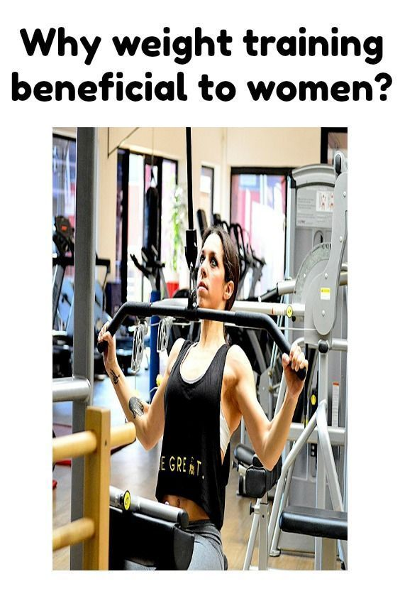 Sculpt your body the way you want it! Weight training helps you in that direction, plus benefits of...
