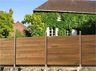 dans un jardin sur une terrasse ou un balcon posez une clture ou un par vue en bois pour prservez votre intimit et viter les plantes grimpantes - Cloture De Jardin En Bois