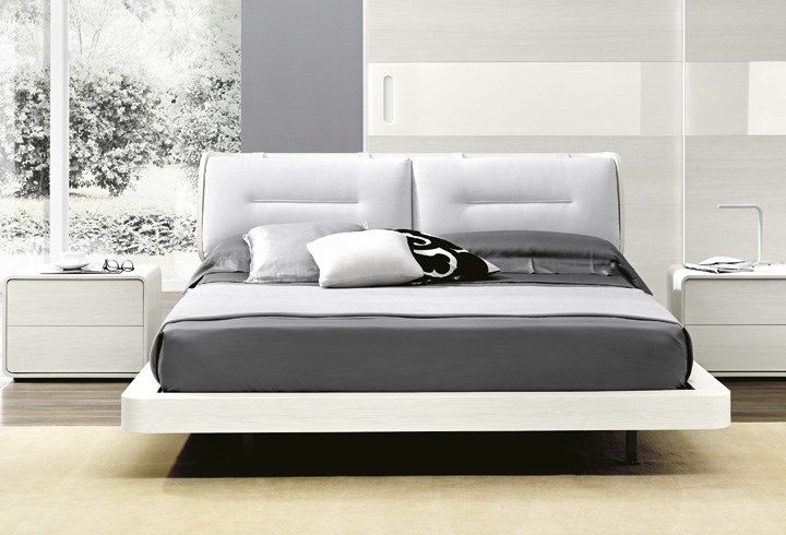 Outlet queen size storage bed berto shop