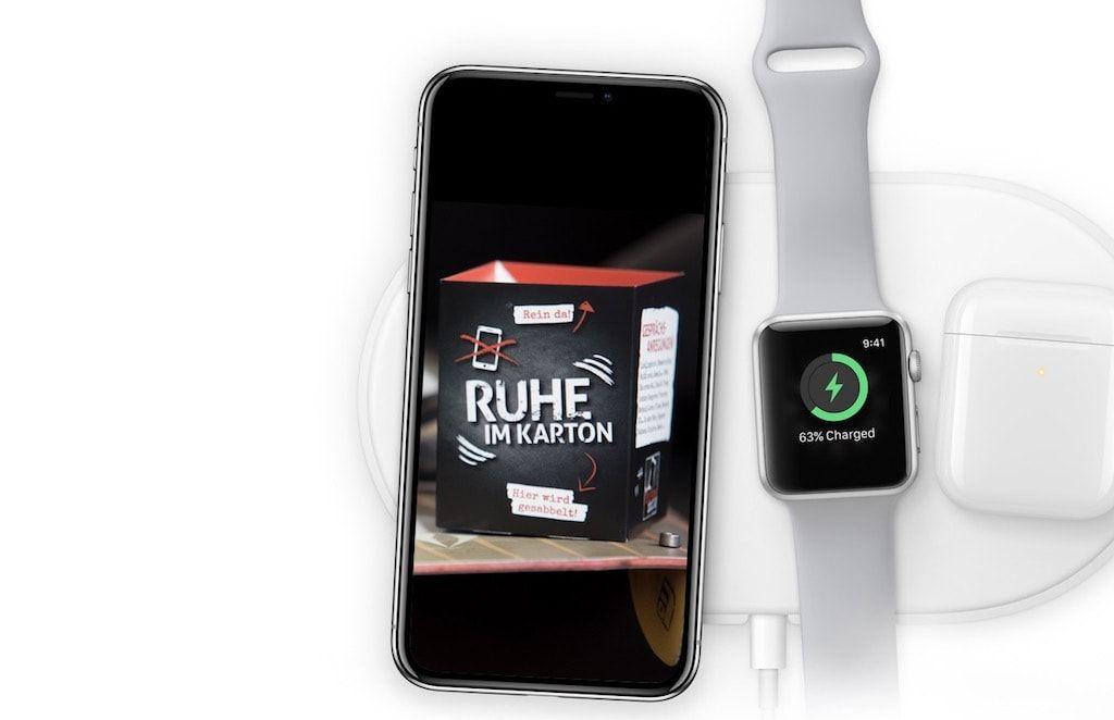 Induktives Laden Mit Dem Neuen Iphone X 8 Mit Dem Iphone X 8 Halt Auch Endlich Das Induktive Laden Einzug Ins Hause Apple De Neue Iphone Iphone Neue Wege