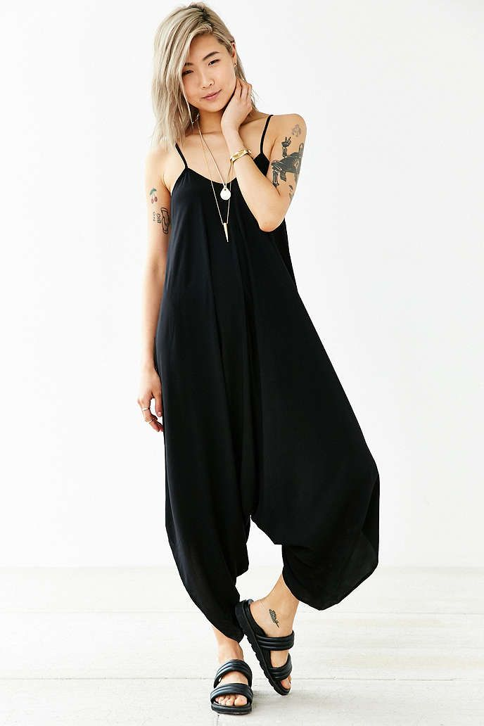 419788bd9ae9 Silence + Noise Oversized Jumpsuit - Urban Outfitters