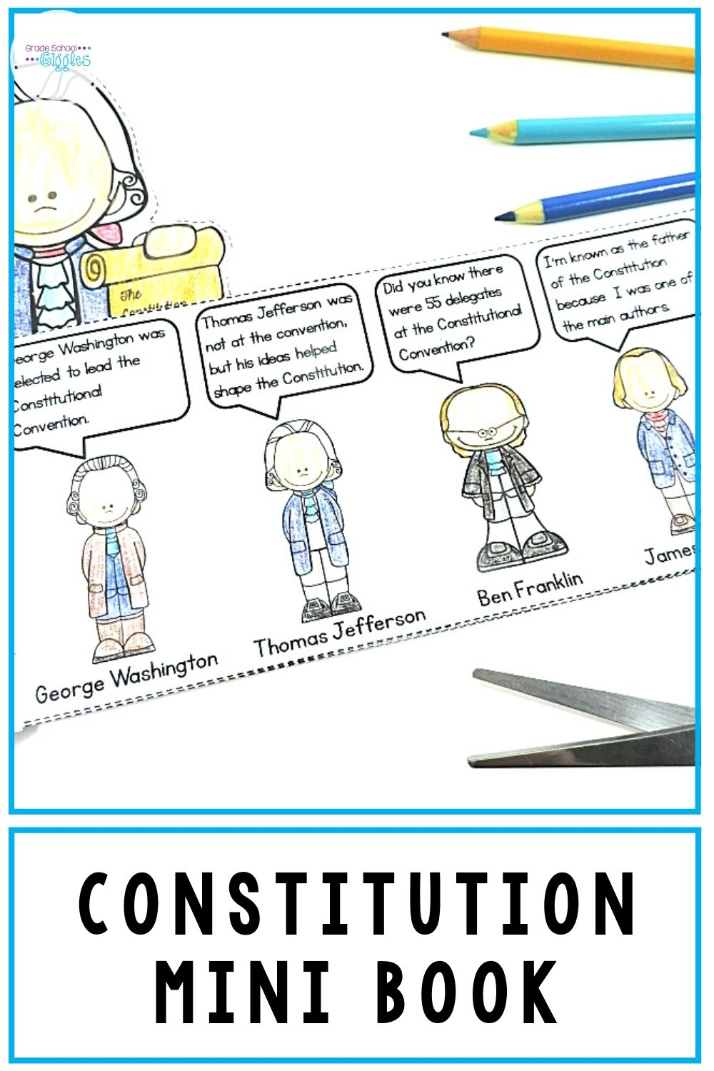 Us Constitution Unit Third Grade Activities Social Studies Elementary Elementary Learning [ 1500 x 1000 Pixel ]
