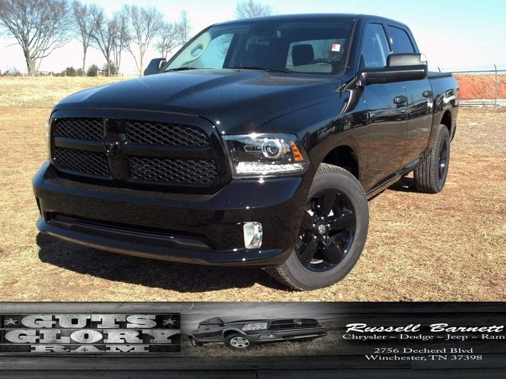 2014 dodge ram black out edition