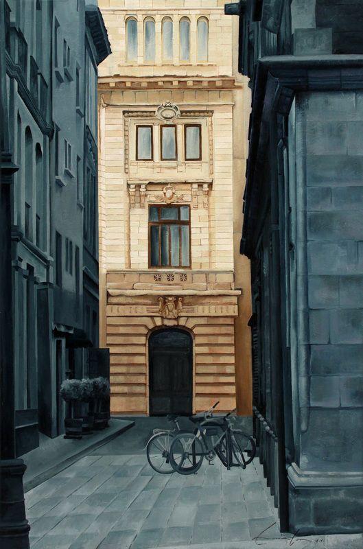 blueprint/architecture series - cecilia villanueva art