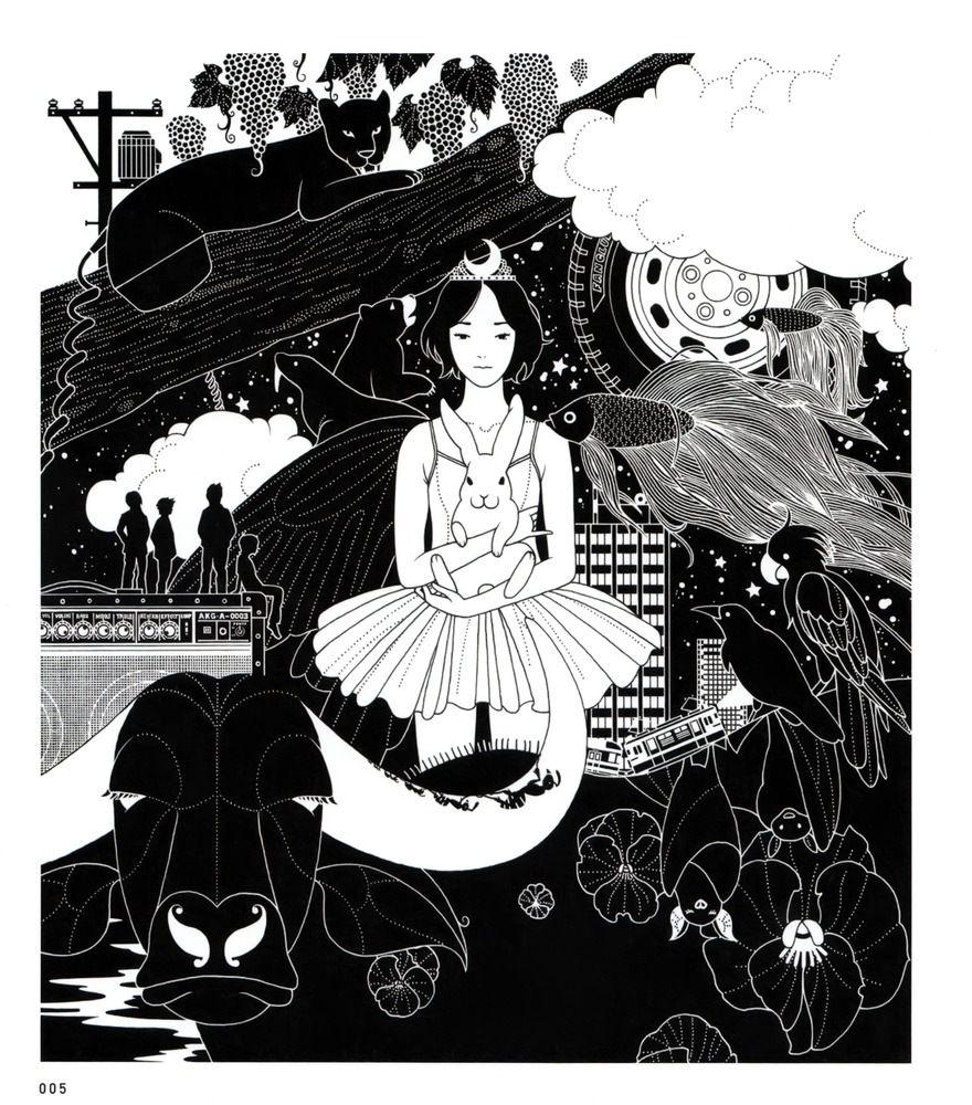 Yusuke Nakamura Álbum de música, Ilustración japonesa