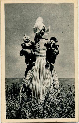 volendam poppen  1950's