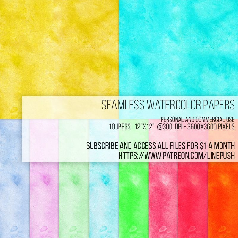 Watercolor paper backgrounds and wallpapers Line Push on - line paper background