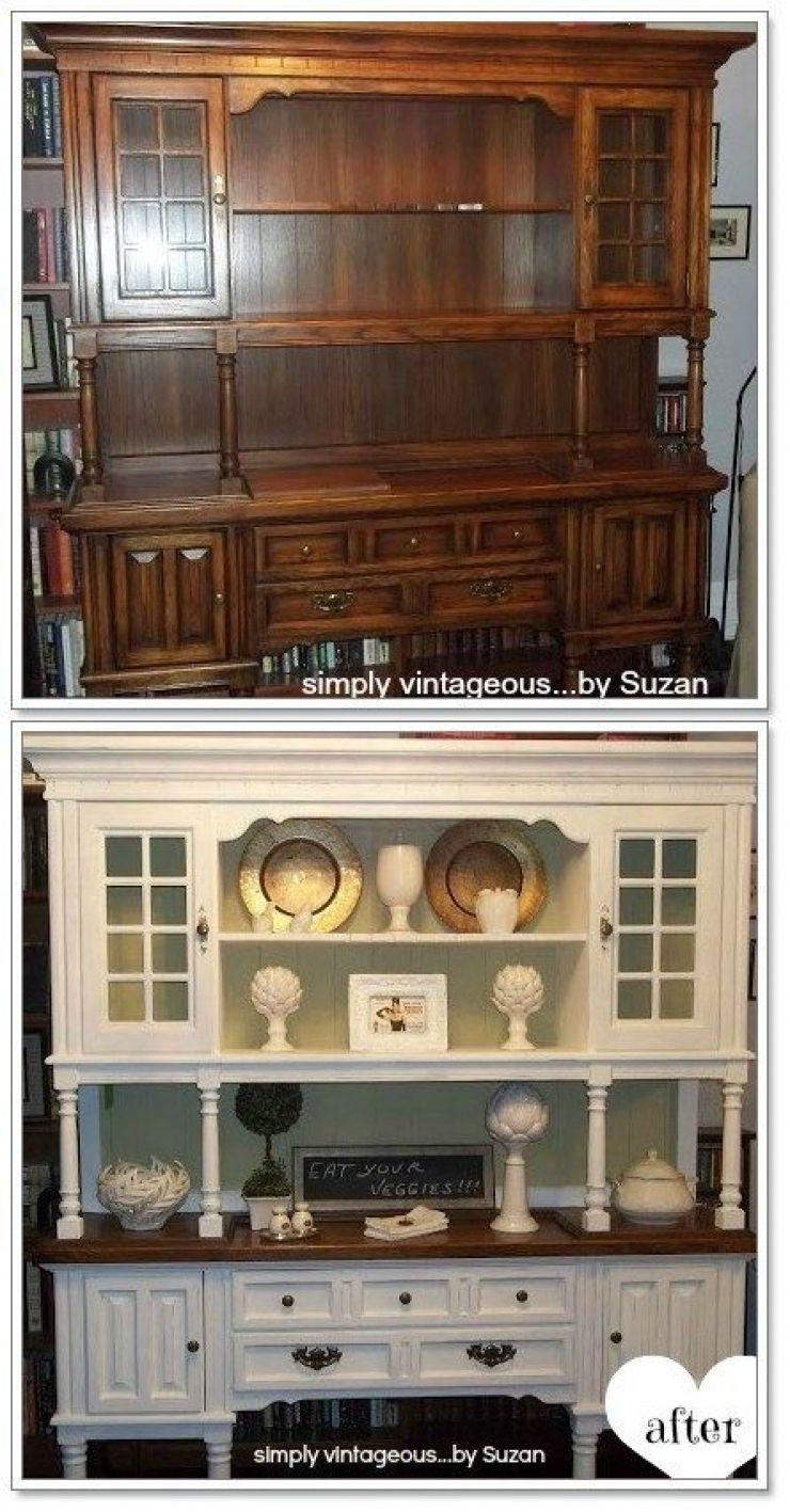 Avant apr s 58 r novations d 39 anciens meubles pour un nouveau look page 7 sur 8 relooking - Relooking vieux meubles ...