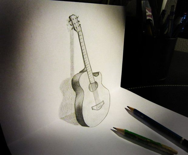 16 Creative 3d Drawings On Paper Illusion Drawings 3d Drawings 3d Illusion Drawing