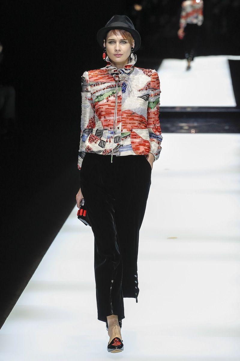 Giorgio Armani | Ready-to-Wear - Autumn 2017 | Look 74