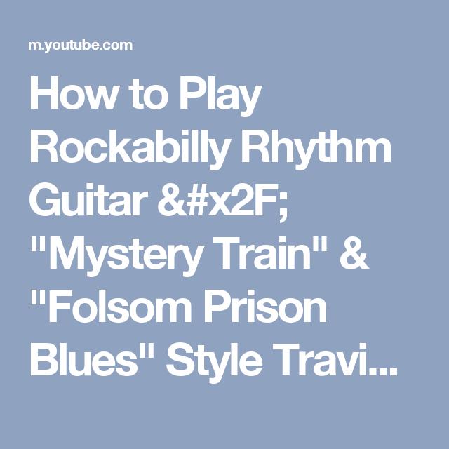 How to Play Rockabilly Rhythm Guitar / \