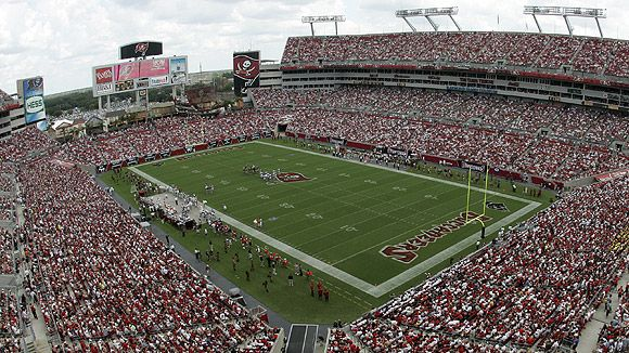Raymond James Stadium Tampa Fl Nfl Stadiums Raymond James Stadium Tampa