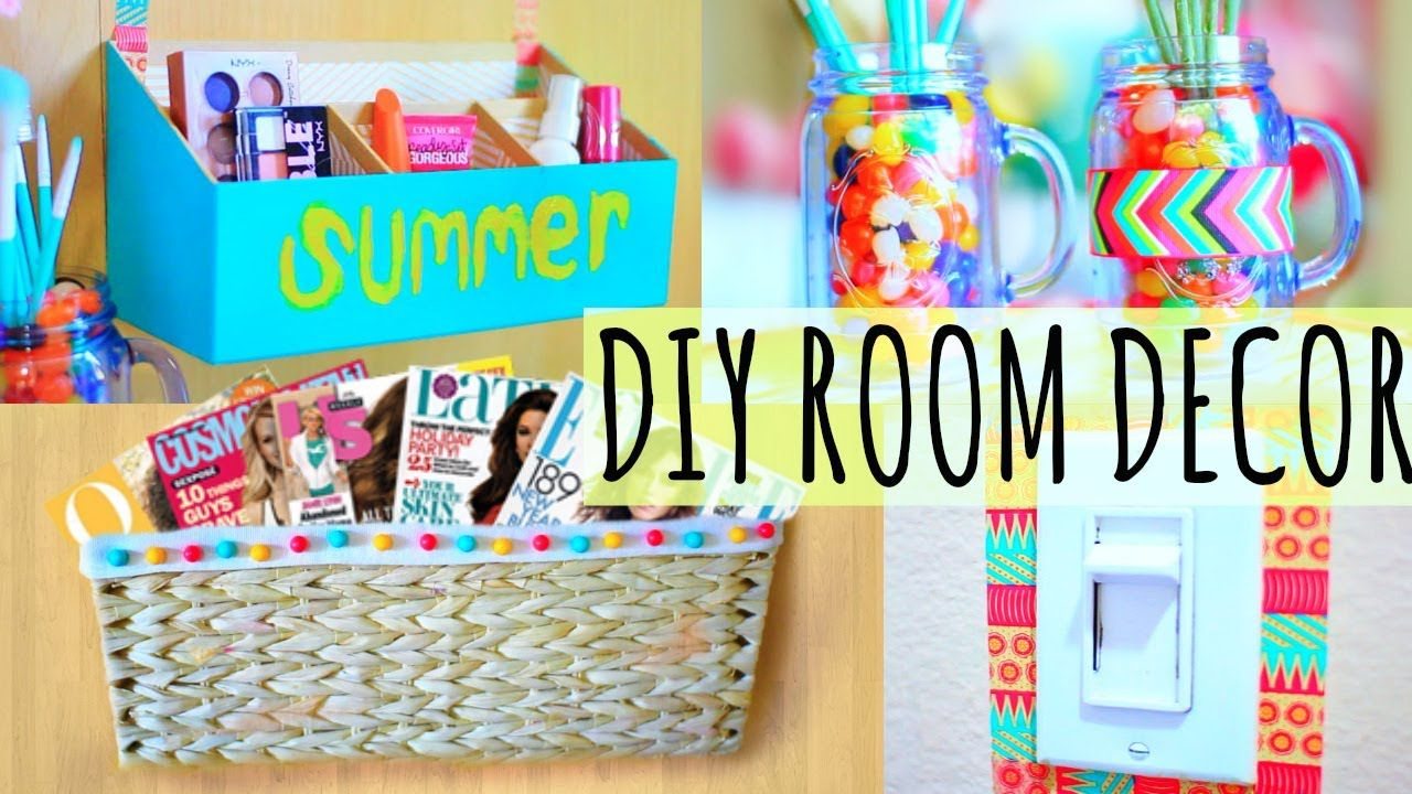 Diy Room Decor 10 Diy Room Decorating Ideas For Teenagers: DIY Room Decor & Organization Ideas For Summer!